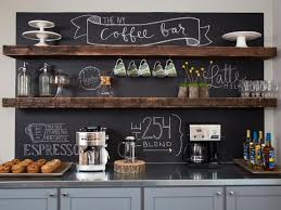 coffee themed home decor coffee bar ideas