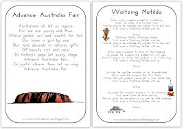 Flag Day Songs Free Printable Australia Day Learning Packet