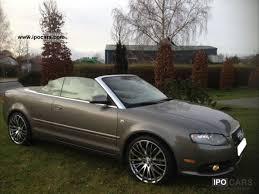 audi a4 2007 convertible 2007 audi a4 quattro all wheel convertible auto s tronic 1hd