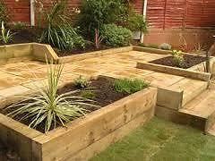 Garden Sleeper Ideas Garden Sleepers New Green Treated 8ft 100mm X 200mm Excellent
