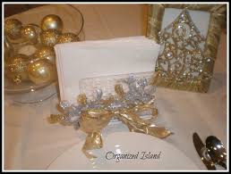 dollar store christmas decorations gold and silver