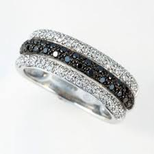 black diamond wedding band this it would totally match my hubbys wedding band
