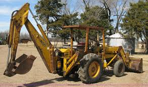 massey ferguson 30 tractor with loader and backhoe attachmen