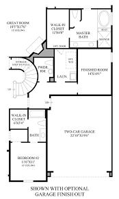 Finish Floor Plan Bridgeland Hidden Creek The Yukon Home Design