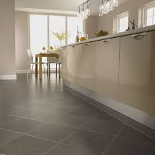 exciting modern floor tiles design for kitchen interior home