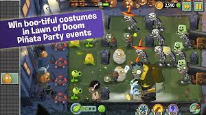 Plants Zombie Halloween Costumes Ea Rolls Update Plants Zombies 2 Android