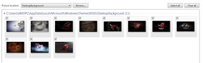 theme bureau windows 7 gratuit the rog windows 7 theme republic of gamers rog republic of