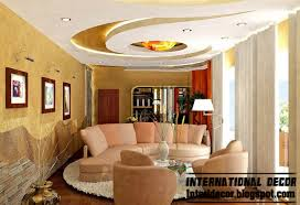 Living Room Ceiling Design Interior Ceiling Design For Living Room At Modern Home Designs