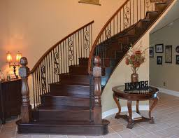 simple brown wooden stair treads for familiar staircase models