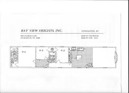 Redman Homes Floor Plans by 1997 Skyline Mobile Home Floor Plan Home Plans