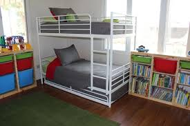 Beds With Bookshelves How To Fit 6 Kids In One Room On A Budget