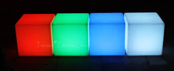 led cubes led cube furniture home design ideas and pictures
