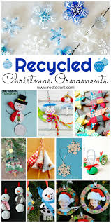 recycled ornaments diy ted s