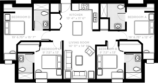 4 Bedroom Floor Plans For A House Pricing And Floor Plans Northview Ucf