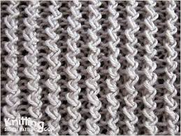 zig zag knitting stitch pattern zig zag rib knitting stitch patterns