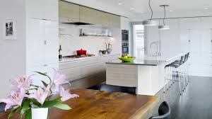 kitchen design clean lined crisp and contemporary addition to a