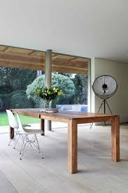 beautifully crafted slice extendable dining table by ethnicraft
