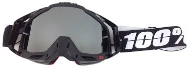 Goggle Shop Chrome Mirror Lens To Fit 100 Percent Motocross Mx