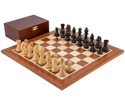 staunton chess sets with boards the regency chess company england