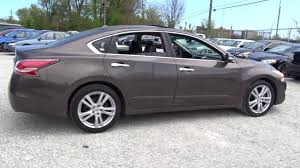 nissan altima 2015 with rims used one owner 2015 nissan altima 3 5 sl chicago il western