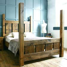 beds king size canopy beds rustic wooden bed australia heads