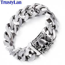 fashion stainless steel bracelet images Trustylan fashion jewelry solid heavy 316l stainless steel jpeg
