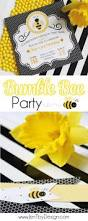 bumble bee party printables u0026 inspiration u2014 jen t by design