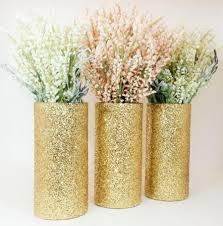 Cylinder Vases Wedding Centerpieces Wedding Centerpiece Gold Wedding Decor Cylinder Vase Black And