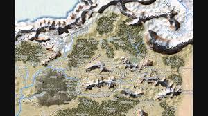 Faerun Map Forgotten Realms Intro Youtube