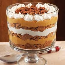 pumpkin maple trifle recipe thanksgiving pumpkins and