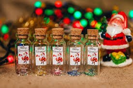 Corporate Holiday Gift Ideas Christmas Gift Him Message In A Bottle Merry Christmas