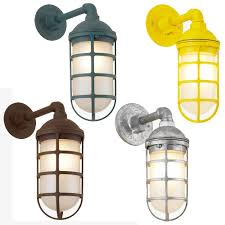 Galvanized Outdoor Light by Hi Lite Manufacturing Rlm Saucer Vapor Jar Outdoor Wall Sconce