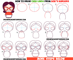 learn how to draw a chibi boy with a cute bug on his baseball hat