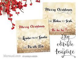 printable christmas gift tags template for word fully editable