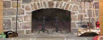 flat arched fireplace doors