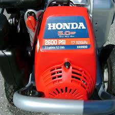 xr2600 honda pressure washer 2600 psi