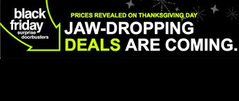 doorbuster deals reveal is on thanksgiving day