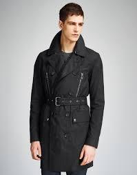 belstaff westborough trench coat in black for men lyst