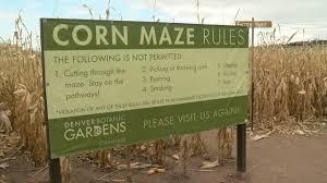Denver Botanic Gardens Corn Maze Security Increased After Reports Assault At Denver S Botanic