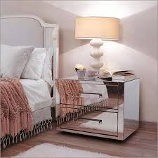 Bedroom Mirrored Furniture Furniture Nightstand Target Mirrored Furniture With Wooden Floor