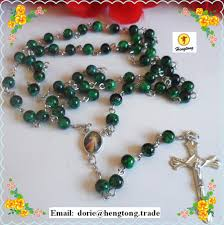 buy rosary aliexpress buy free shipping green and orange glass bead