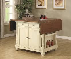 kitchen islands with butcher block top fascinating furniture ivory polished oak wood portable kitchen