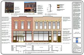 Iit Campus Map Michigan Main Street Awards Design Services To Owners Of Proposed