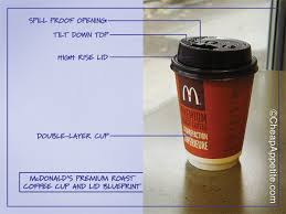Coffee Mcd coffee lids worley