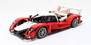 lego ferrari 458 race car the lego car blog