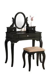 linon home decor vanity set with butterfly bench black mirror bedroomy small blackies for kids chairs girls set with