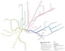 Nj Train Map Regional Rail For New York Part Ii Change At Jamaica