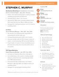 Economics Resume Stephen Murphy U0027s Resume Nj Digital Marketing Leader
