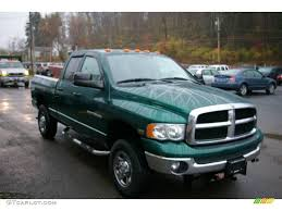 2004 timberline green pearl dodge ram 2500 slt quad cab 4x4