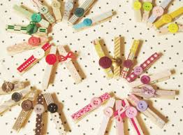 Decorative Clothespins Fun With Mod Podge Pretty Decorated Clothespins For All
